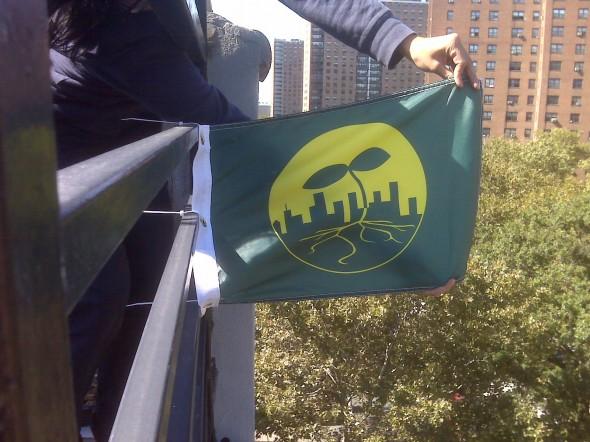 Seeding The City Flag