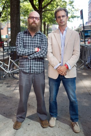 Steve Lambert and Stephen Duncombe founders of the Center for Artistic Activism