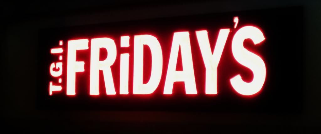 TGI Friday's Sign