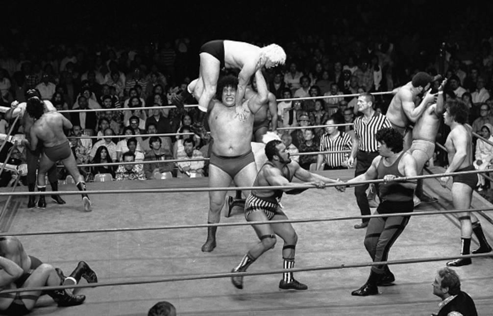 10: Professional Wrestling