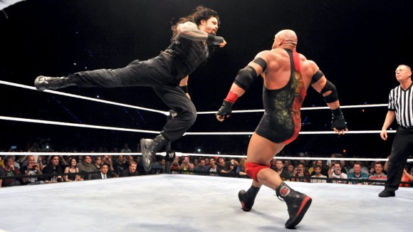 Roman Reigns Superman Punch