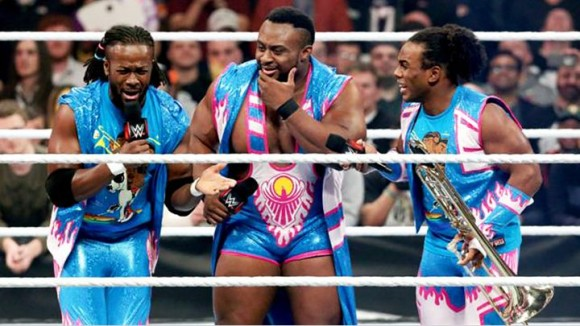 "The New Day uses the ""power of positivity""... sort of?"