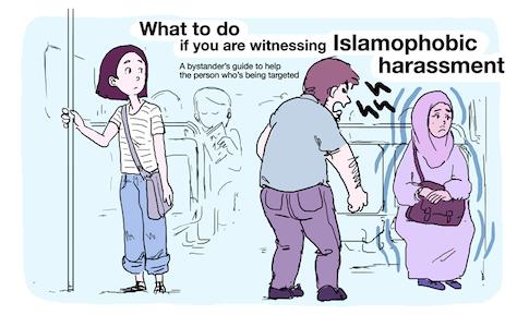 How to intervene if you witness Islamophobic harassment