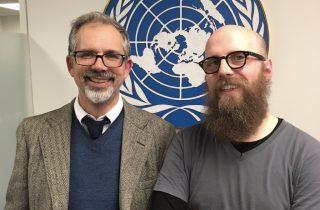 Artistic Activism at the UN