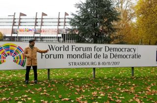 "We Got a ""Silver Medal"" at the World Democracy Forum!"