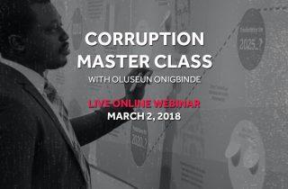 Webinar #21: Corruption Master Class