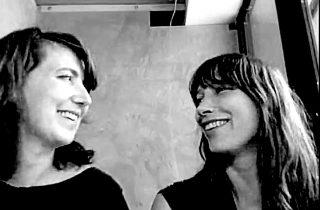 Rebecca Bray and Britta Riley