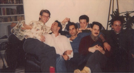 Avram Finkelstein (pictured at center, circa 1985)