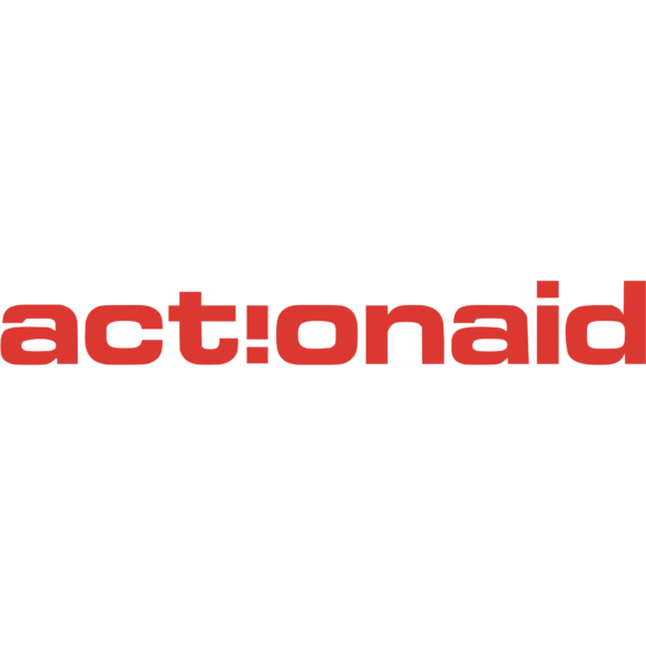 Action Aid Logo White