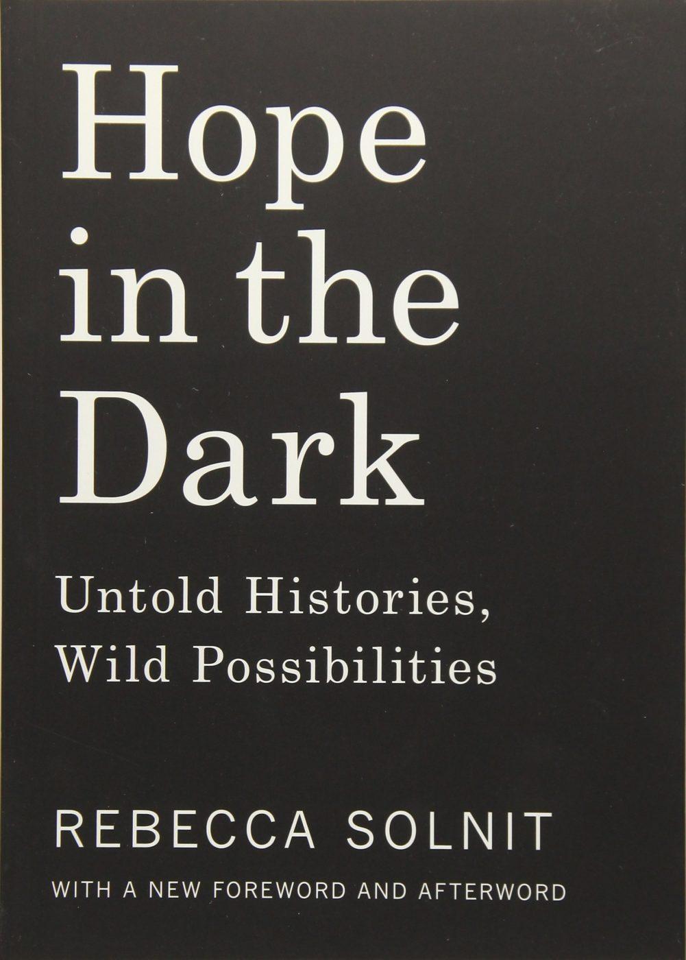 Hope In The Dark, Solnit book cover