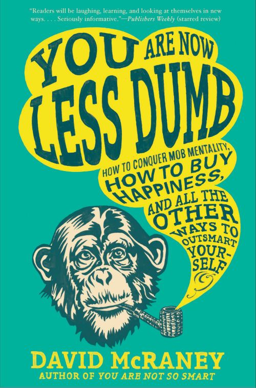 "Image of David Raney's ""You are now less dumb"" book cover."