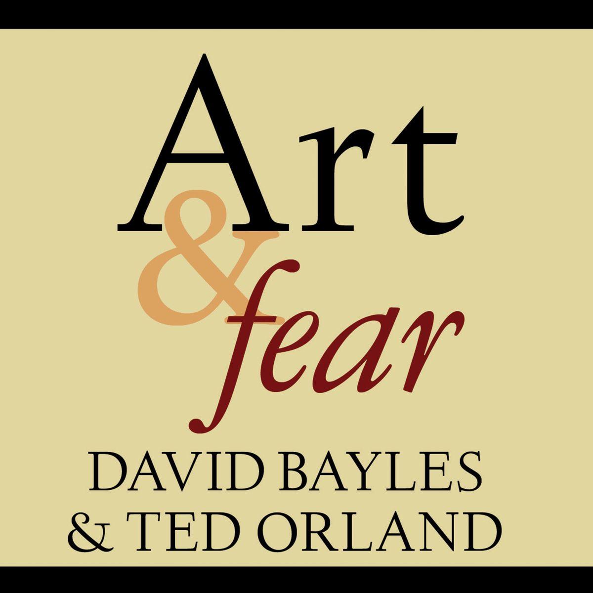 Art & Fear cover