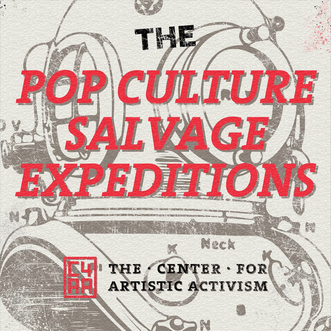 The Pop Culture Salvage Expeditions Podcast Art