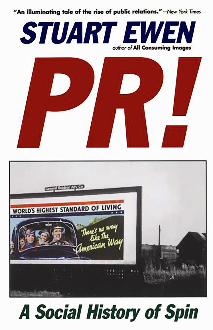 PR! Stuart Ewen book cover