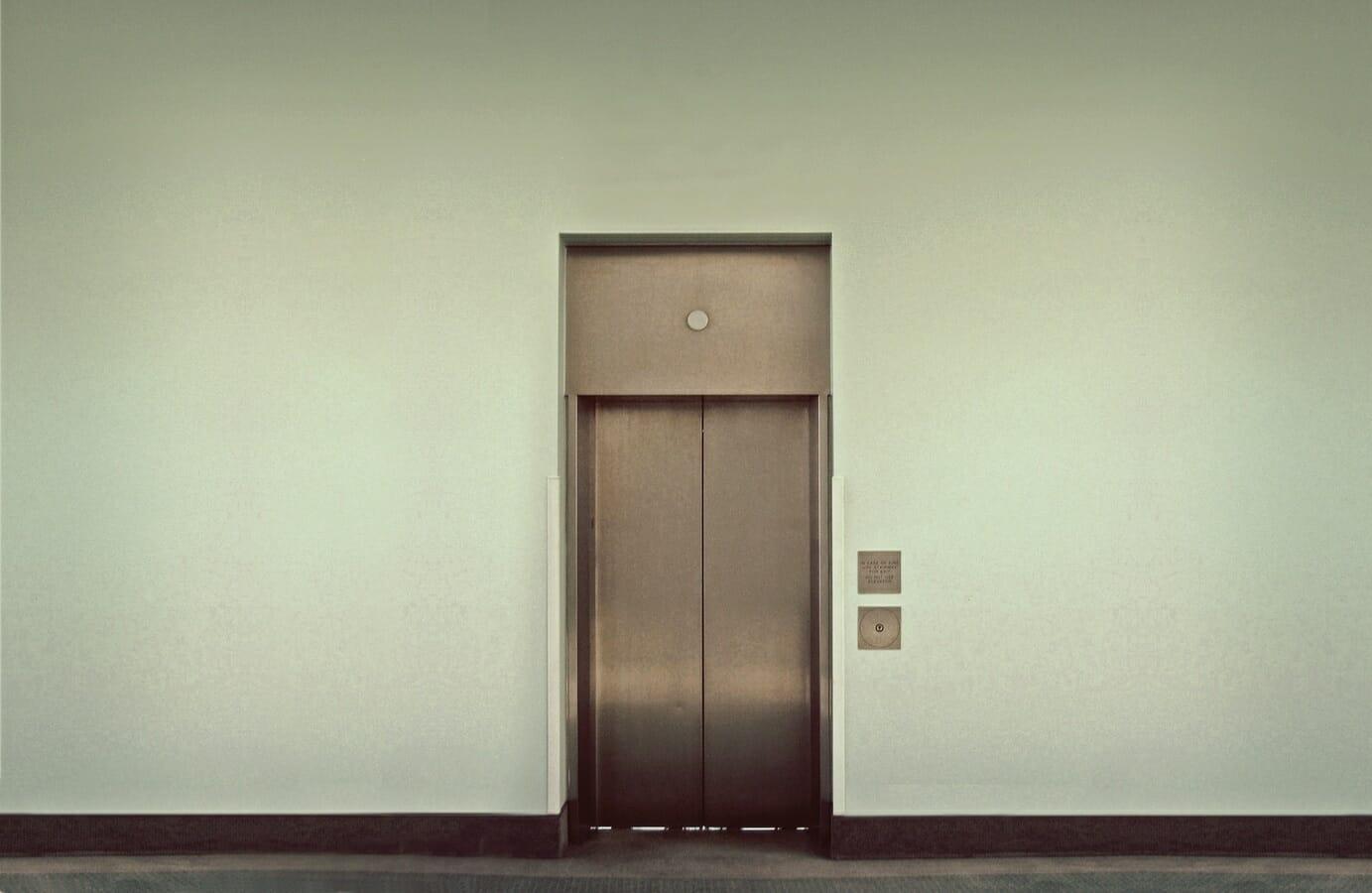 Office Elevator Door