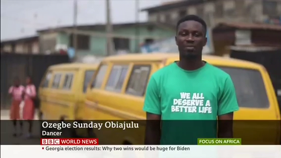 "Ozegbe Sunday ""Valu"" Obiajulu on the BBC"