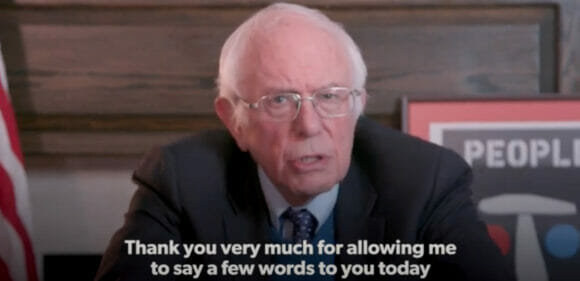Bernie Sanders Supports a People's Vaccine
